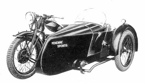 1935 Sports Sidecar for Flying Fox