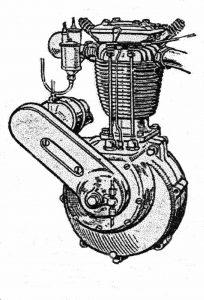 British Anzani 500cc Engine