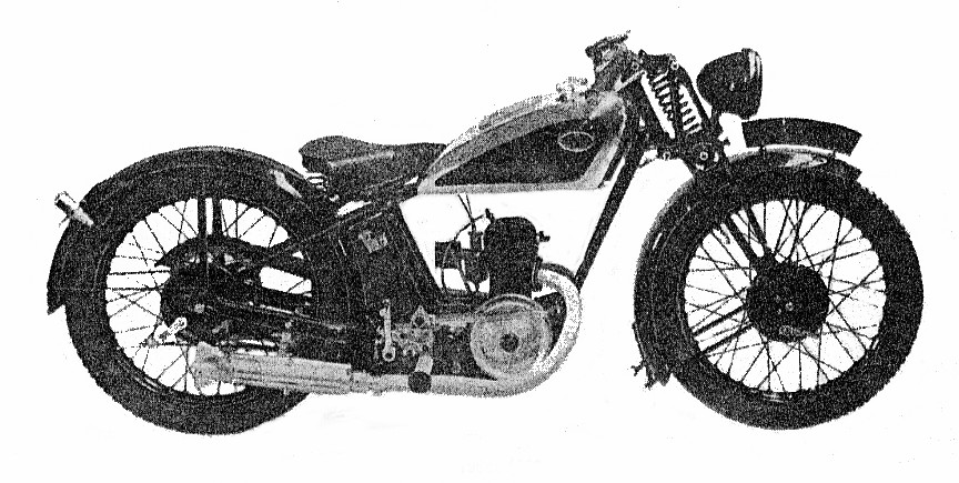 Villiers engine two-stroke